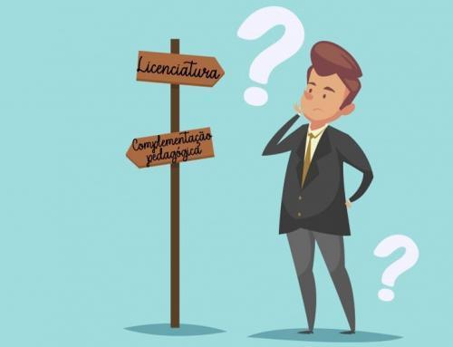 Fazer complementação pedagógica ou licenciatura?